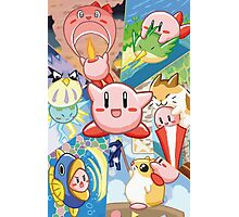 Kirby's Dream Land 3 - Companion Abilities Photographic Print