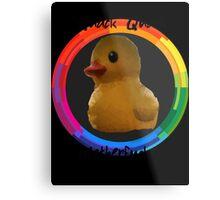 Polygon art : Quack Quack MotherFucker Metal Print