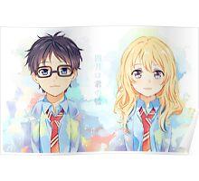Kaori and Kousei  Poster