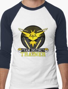 Team Instinct - Pokemon Go Men's Baseball ¾ T-Shirt