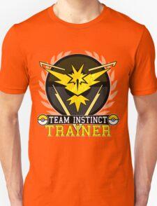 Team Instinct - Pokemon Go Unisex T-Shirt