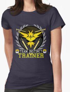 Team Instinct - Pokemon Go Womens Fitted T-Shirt