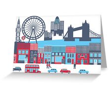 London, England Greeting Card