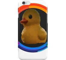 Polygon art : Duck Quack Quack iPhone Case/Skin