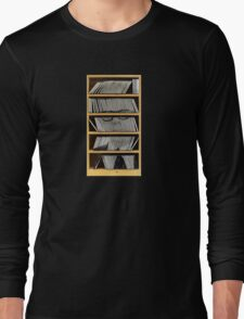 Shelf Portrait Long Sleeve T-Shirt