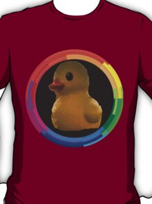 Polygon art : Duck Quack Quack T-Shirt