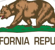 California Republic state flag - Authentic Version Sticker