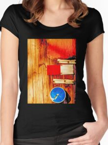 Telephone Pole Women's Fitted Scoop T-Shirt