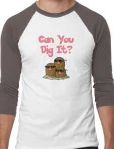 Can You Dig It? Men's Baseball ¾ T-Shirt