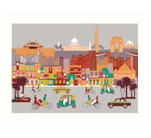 New Delhi, India Art Print