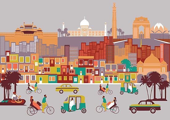 New Delhi, India by Fanatic  Studio