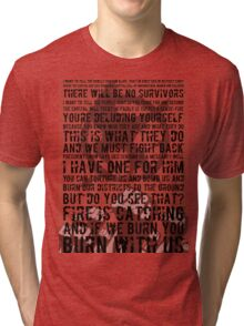 The Hunger Games Typography Tri-blend T-Shirt