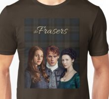 The Frasers-Jamie, Claire & Brianna Unisex T-Shirt