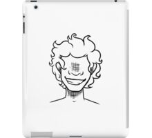Curly Haired Boy iPad Case/Skin