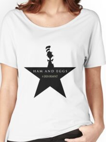 Hamilton Musical and Dr. Seuss funny mash-up Women's Relaxed Fit T-Shirt