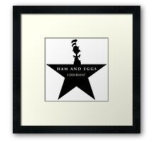 Hamilton Musical and Dr. Seuss funny mash-up Framed Print