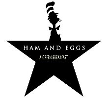 Hamilton Musical and Dr. Seuss funny mash-up Photographic Print
