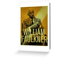 Faulkner Greeting Card