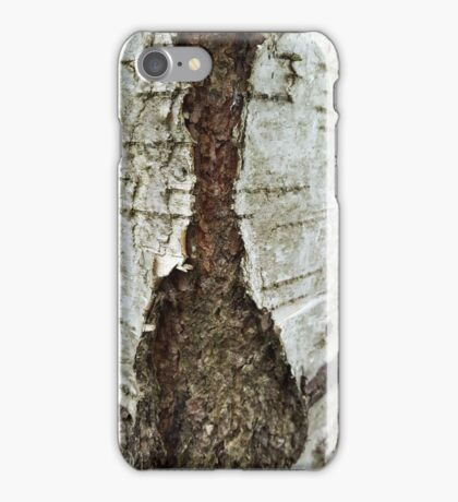 Tree bark V. 1 iPhone Case/Skin