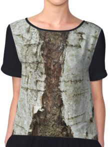 Tree bark V. 1 Chiffon Top