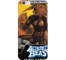 Altered Beast iPhone Case/Skin
