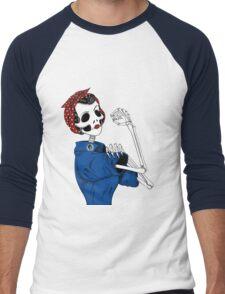 Rosie: We Can Do It! Men's Baseball ¾ T-Shirt