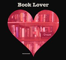 Book Lover Heart by KayeDreamsART