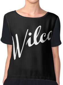Wilco Chiffon Top