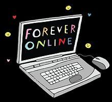 Forever Online by pastelgrunge