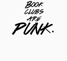 Book clubs are PUNK. Womens Fitted T-Shirt