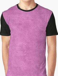 Spring Crocus Oil Pastel Color Accent Graphic T-Shirt