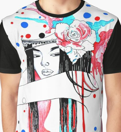 Rose Graphic T-Shirt