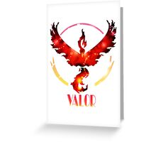 VALOR Greeting Card