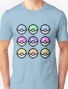 Pokemon Pastel Unisex T-Shirt