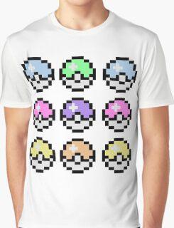 Pokemon Pastel Graphic T-Shirt