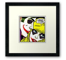 Crazy Little Thing Called Love Framed Print