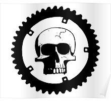 Sprocket Skull Poster