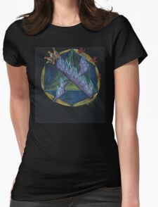 ALEF - 1 - The Mysteries of Oneness Womens Fitted T-Shirt