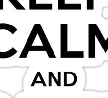 Pokemon Go Trainer Keep calm and catch em all Sticker
