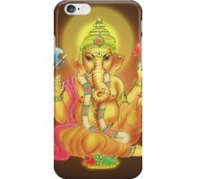 Close-up of Lord Ganesha iPhone Case/Skin