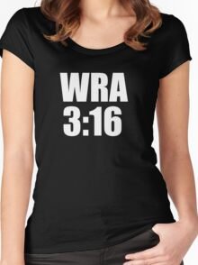 WRA 3:16 Women's Fitted Scoop T-Shirt