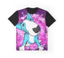 English Bull Terrier Cartoon  Graphic T-Shirt