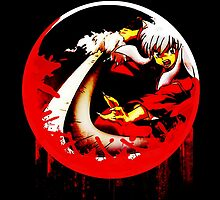 inuyasha red circles by unlimitedimage
