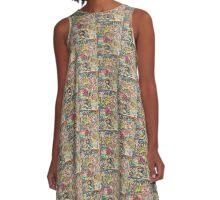 Rare Feng Shui A-Line Dress