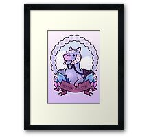 Hey There Hoth Stuff (Tauntaun) Framed Print