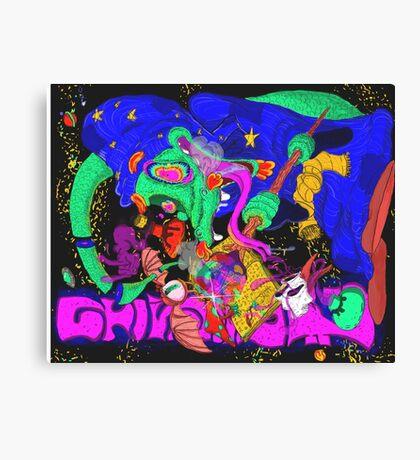 Lizard Wizard Canvas Print