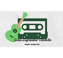 Sonia Lagrandeur Singer songwriter  Photographic Print