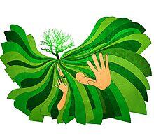 Save Soil Photographic Print