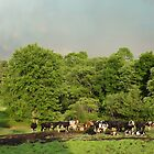 Cows in the coming storm by vigor