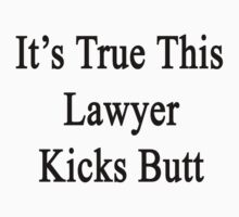 It's True This Lawyer Kicks Butt  by supernova23